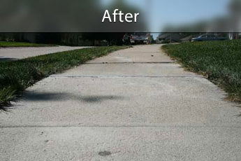 Fixing sunken concrete with PolyLevel® in Des Moines